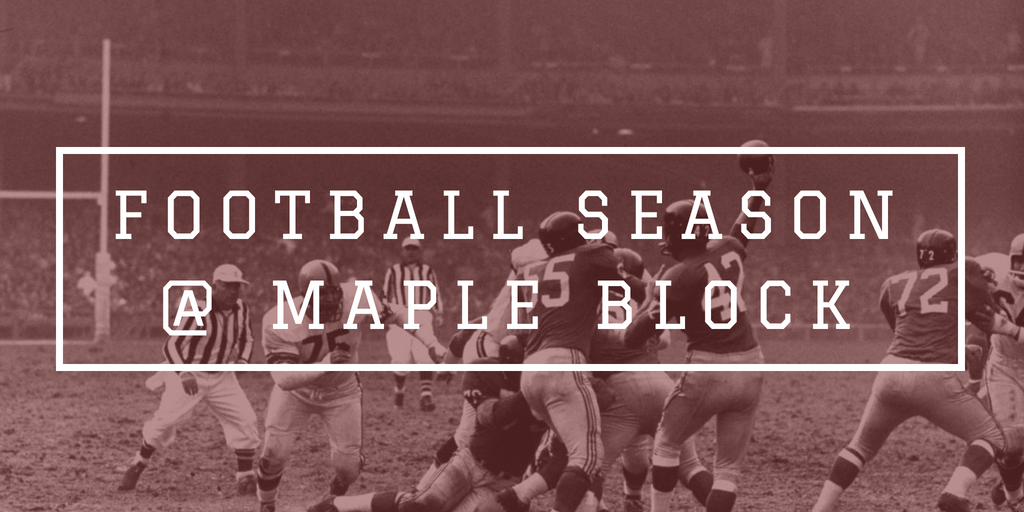 Football Season at Maple Block BBQ