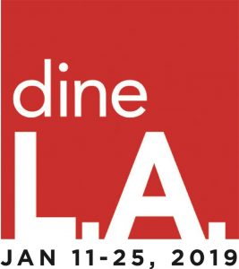 dineLA Winter 2019 - Maple Block - Lunch and Dinner Menus