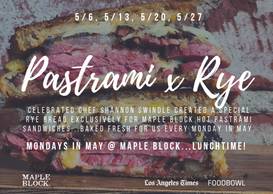 Pastrami Colllab_LA Food Bowl_Maple Block_Los Angeles Times